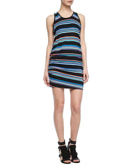 Paloma Striped Sleeveless Dress