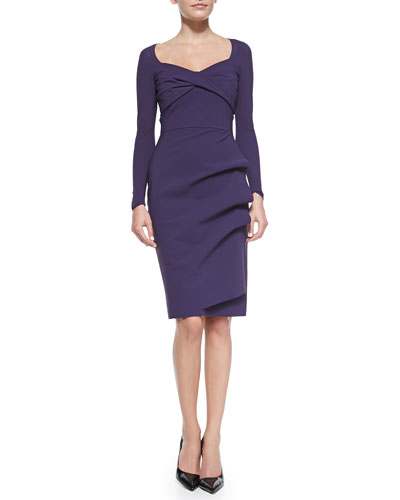 La Petite Robe di Chiara Boni Fedra  Long-Sleeve Dress