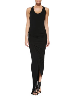 Young Fabulous and Broke Sassy Jersey Ruched Maxi Dress