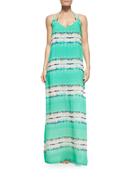 Aquarela Vicky Sleeveless Long Coverup Dress