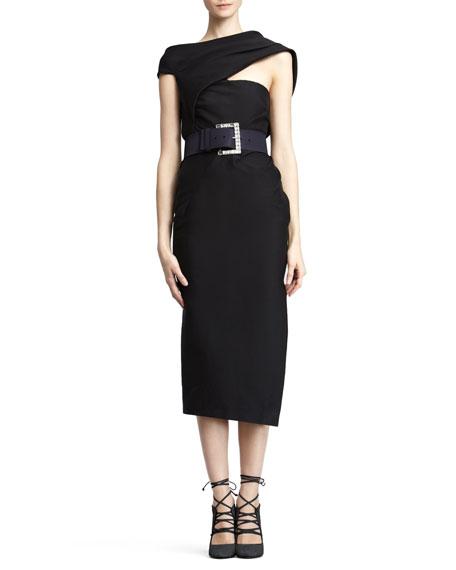 Asymmetric Body Dress