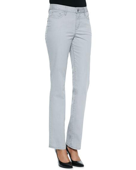 Madison Carmel Twill Straight-Leg Jeans