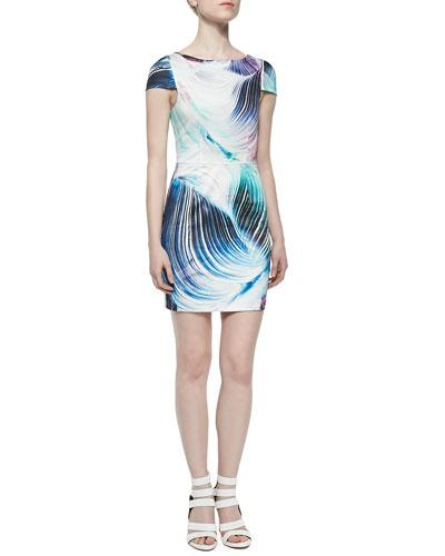 Kelli & Talulah Smile So Bright Half-Sleeve Dress
