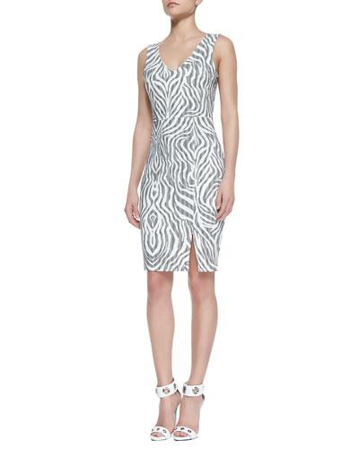 Kelli & Talulah A Never Let Go V-Neck Dress