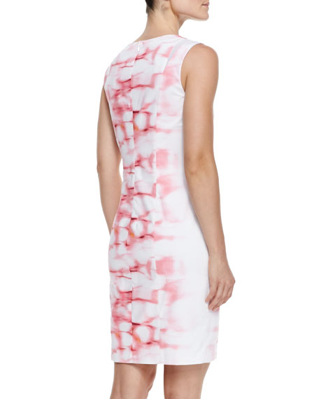 Breton Printed Sleeveless Dress