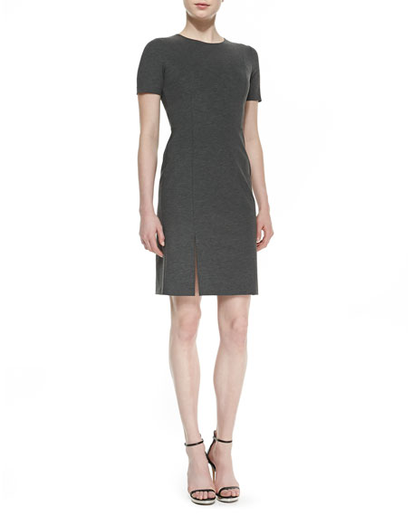 Winstine Refiner Short Sleeve Ponte Dress