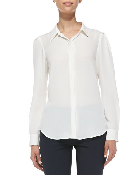 Miska Double-Georgette Blouse
