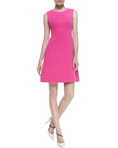 kate spade new york sicily fit-and-flare dress