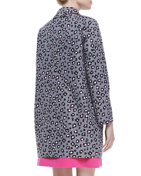 0fd91f4b522 kate spade new york cyber cheetah feti coat