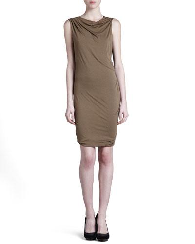 Donna Karan Layered Asymmetric Dress