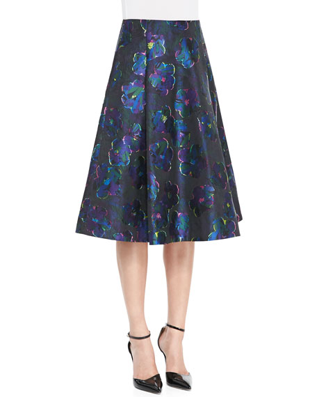 kate spade new york floral clip dot a-line