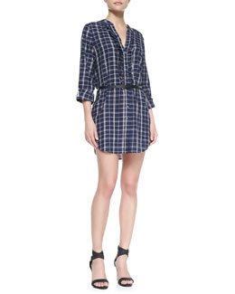 Joie Jessalyn Poplin Shirt Dress