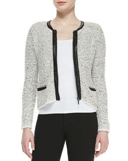 Joie Jacolyn B Tweed Jacket