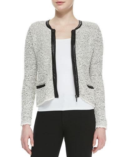 Jacolyn B Tweed Jacket