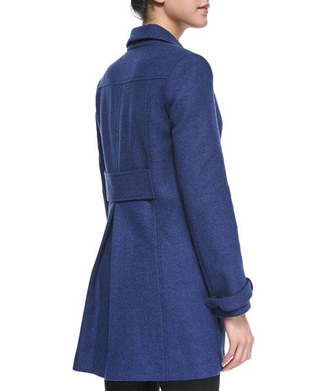 Liselle Double-Breasted Felt Coat