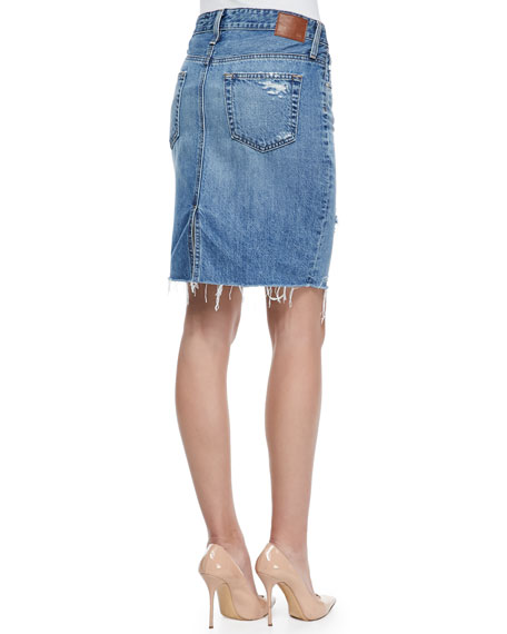 Erin 16-Years Ascension Denim Skirt