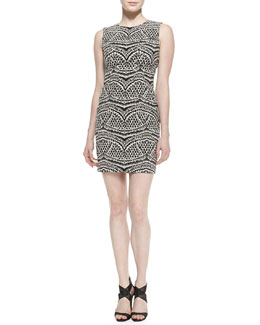Diane von Furstenberg Pentra Sleeveless No-Seam Dress
