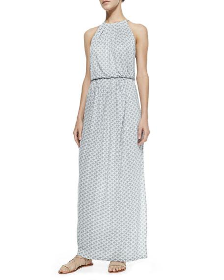 Sumey Halter-Neck Maxi Dress