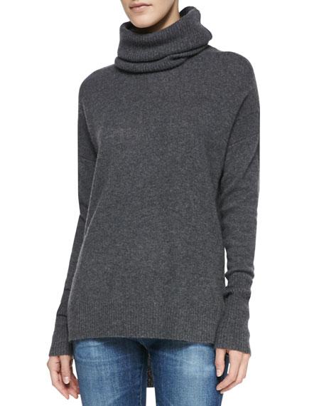 Ahiga Cashmere Funnel Neck Sweater