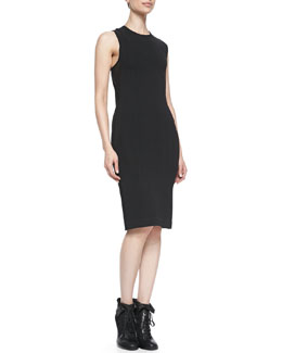 Rag & Bone Tara Lace-Up-Back Sleeveless Dress