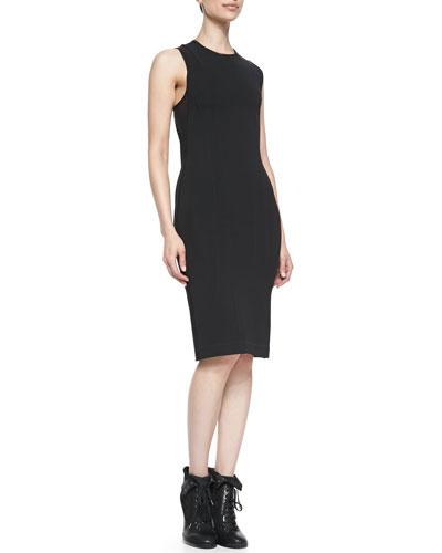 Rag & Bone Tara Lace-Up-Back Sleeveless Dress