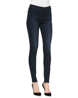 AG Adriano Goldschmied Farrah Brooks High-Rise Skinny Jeans