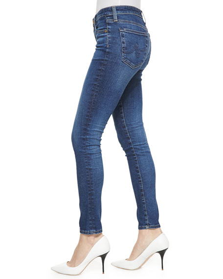 Middi 12 Years Wingspan Whiskered Skinny Cropped Jeans
