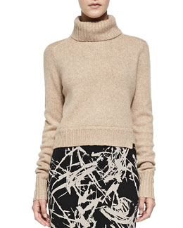 A.L.C. Tevin Cropped Turtleneck Sweater