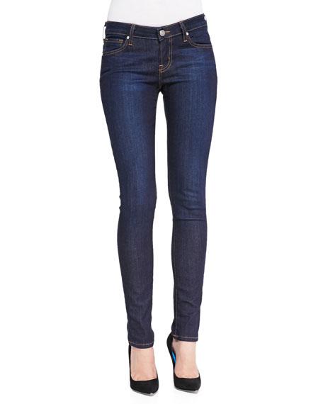 Notre Dame™ Branded Skinny Jeans, Blue