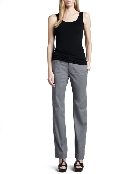 Rosie Relaxed Dobby Trousers