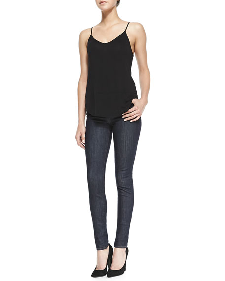 Jess Silence High-Rise Stack Skinny Jeans