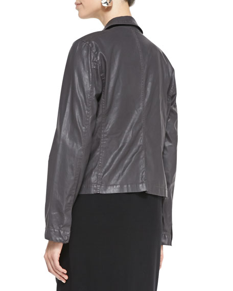 Waxed Moto Jacket, Women's