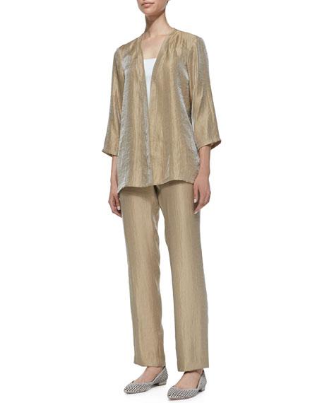 Gloria Crinkled Pants, Plus Size