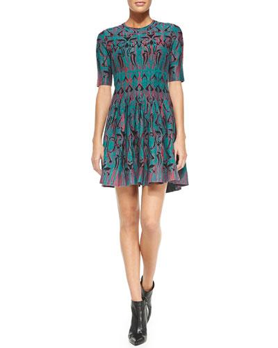 M. Missoni Art Deco Fleur Dress