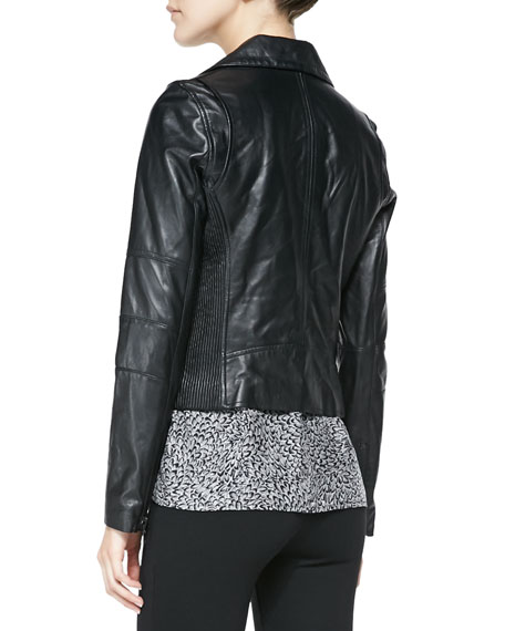 Davey Lambskin Leather Jacket