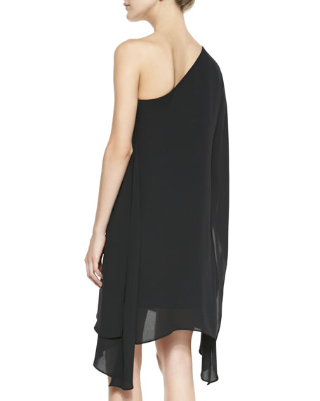 Alana Jersey One-Shoulder Dress