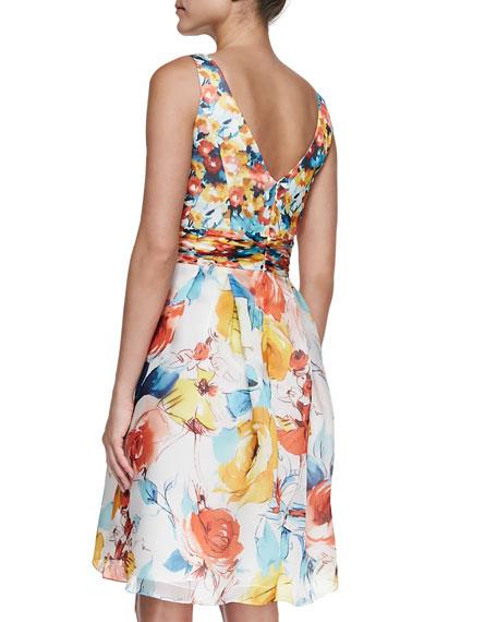 Dancer Floral Printed Dress