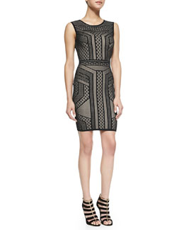 BCBGMAXAZRIA Stefanie BodyCon Sleeveless Dress