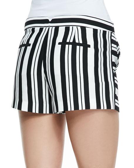 Summer Striped Shorts