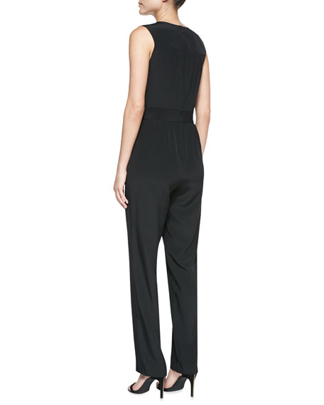 Carlotta Sleeveless Luxe Jumpsuit