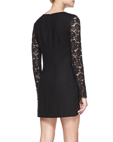 Jet Long-Sleeve Sheath Dress