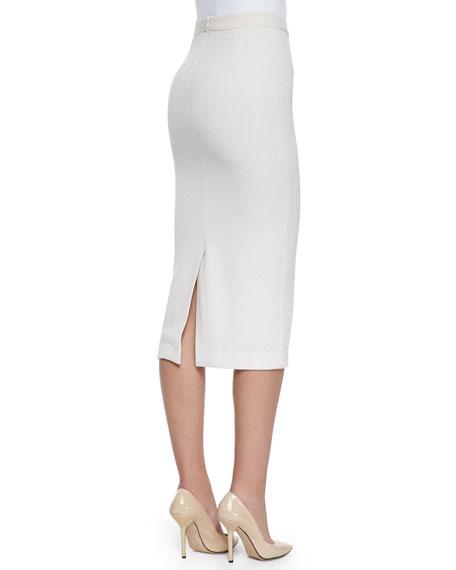 Jamie Knee-Length Pencil Skirt