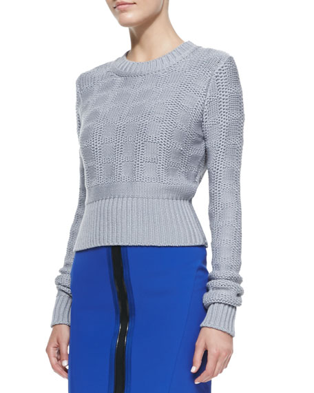 Large Inbox Long-Sleeve Pullover