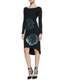 Troubadour The Mavis Sequined Knit Dress