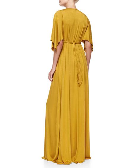 Jersey Maxi Caftan Dress, Women's