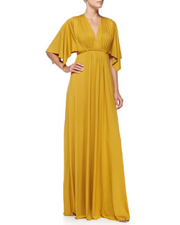 Rachel Pally Jersey Maxi Caftan Dress