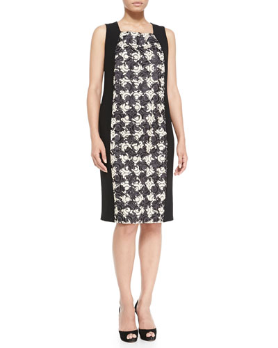 Marina Rinaldi Dattero Knit/Tweed Dress, Women's