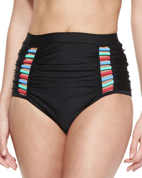 Cas Abou High-Rise Bikini Bottom