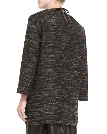 Long Textured Jacket, Women's