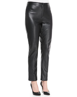 Marina Rinaldi Recoardo Faux-Leather Pants, Women's